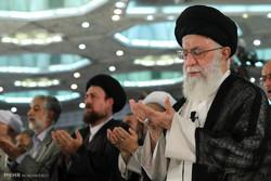 تقرير مصور عن اقامة صلاة عيد الفطر بأمامة قائد الثورة -1-