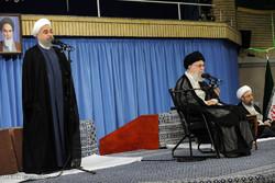 دیدار مسئولان، سفرای کشورهای اسلامی و جمعی از اقشار مختلف مردم با رهبر معظم انقلاب
