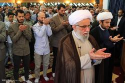 نماز عید سعید فطر در مرکز اسلامی هامبورگ