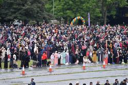 Avrupa'nın en büyük Ramazan Bayramı'ndan kareler
