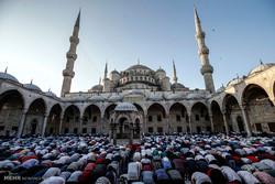عید فطر در نقاط مختلف جهان