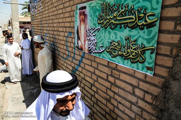 """مراسم عيد الفطر و""""الهوسه"""" في محافظة خوزستان"""