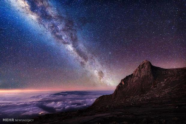 تماشای کهکشان راه شیری از زمین