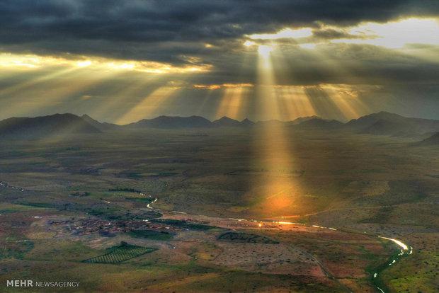 طلوع آفتاب در نقاط مختلف جهان