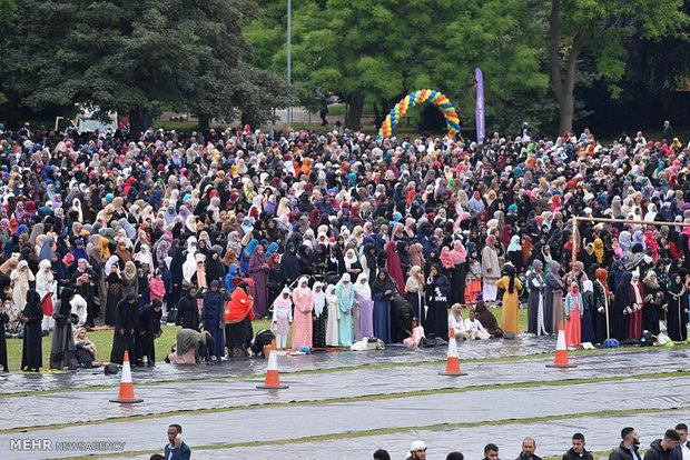 بزرگترین مراسم جشن عید فطر در اروپا
