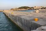 تحقق خواسته دیرینه صیادان جزیره/ موجشکن خارگ افتتاح شد