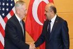 وزرای دفاع آمریکا و ترکیه دیدار می کنند