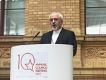 Iran's Zarif urges Europe to help resolve Persian Gulf conflicts