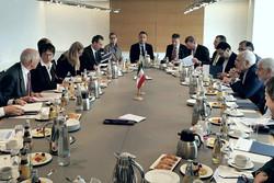 دیدار ظریف و وزیر اقتصاد آلمان