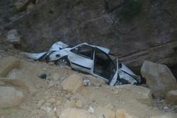 سقوط یک خودرو به دره نکا ۳ کشته برجای گذاشت