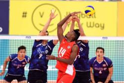 دیدار تیم های والیبال جوانان ایران و کوبا