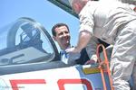 Beşar Esad'ın Rusya hava üssüne yaptığı ziyaretten kareler