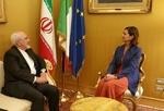 دیدار ظریف با رئیس مجلس ایتالیا/ گفتگو درباره بحران مهاجرت