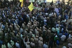 مراسم استقبال از دومین شهید مدافع حرم استان بوشهر برگزار شد
