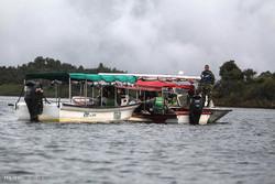 غرق شدن قایق تفریحی در کلمبیا