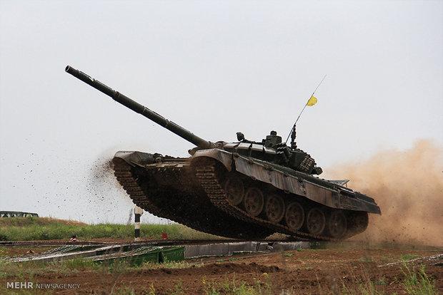 تانک های ارتش روسیه