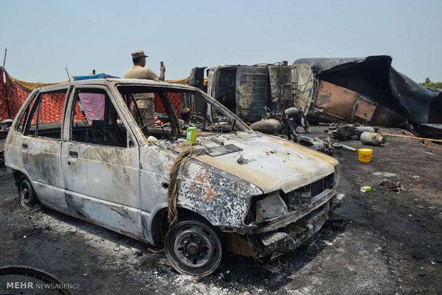 انفجار تانکر سوخت در پاکستان