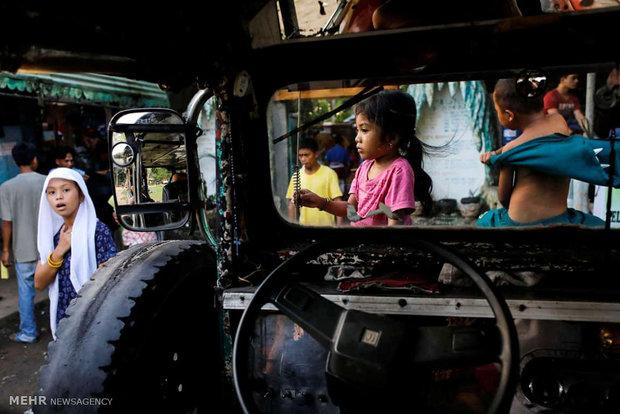 آوارگی مردم فیلیپین به دلیل حضور داعش