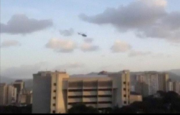 فنزويلا.. ضابط متمرد يهاجم المحكمة العليا بمروحية