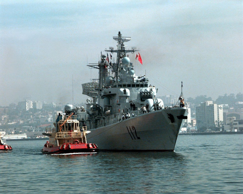 STAND DOWN: China launches WARSHIPS to intercept United States  destroyer