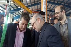 وزیر صنعت از الکامپ بازدید کرد
