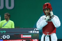 Iran's Hosseini settled for silver in 2018 World Taekwondo Grand Prix