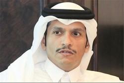 وزير خارجية قطر: تفاجأنا بقرار دول الخليج الفارسي وملتزمون بالعمل بالإطار الخليجي