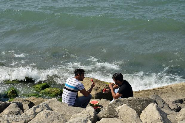 İran'daki yaz sezonu tatilinden kareler