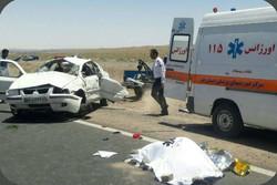 حوادث ترافیکی ۲۴ ساعت گذشته قم یک کشته و ۹ مجروح برجای گذاشت