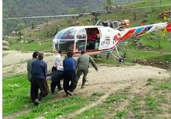 ۵۰ سورتی پرواز بالگرد برای امداد رسانی به مردم گلستان