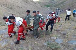 امداد رسانی به حادثه دیدگان ریزش تونل برفی