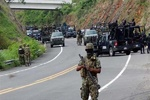 ۱۴ نیروی پلیس در غرب مکزیک کشته شدند