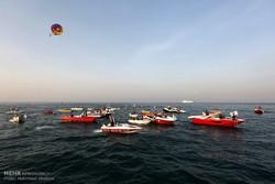 تمرین دریایی با شعار جزیره پاک در جزیره کیش