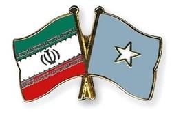 پرچم ایران و سومالی