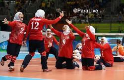 women's sitting volleyball