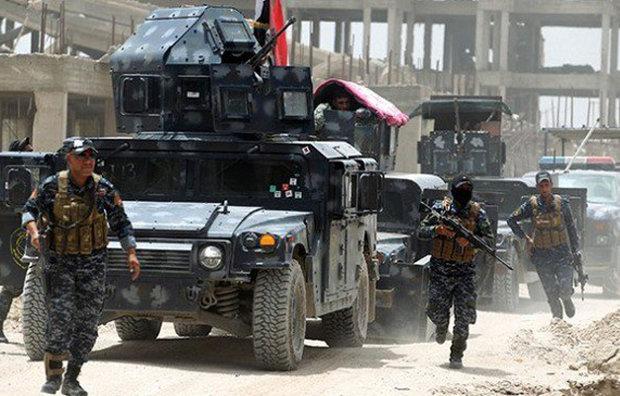 """الشرطة العراقية تعلن مقتل 83 ارهابيا من """"داعش"""" في الموصل القديمة"""