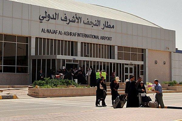 رفع حظر التجوال عن النجف واستئناف الحركة الجوية في مطارها