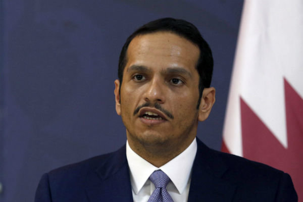 Iran won't come to negotiating table under sanctions: Qatari FM