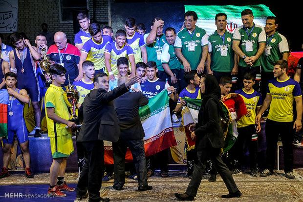 مسابقات بین المللی کشتی فرنگی جام یادگار امام (ره) در قم
