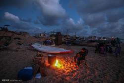 شب های تاریک مردم غزه