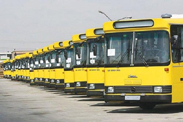 ضدعفونی اتوبوس ها با دستگاه مه پاش همچنان ادامه دارد