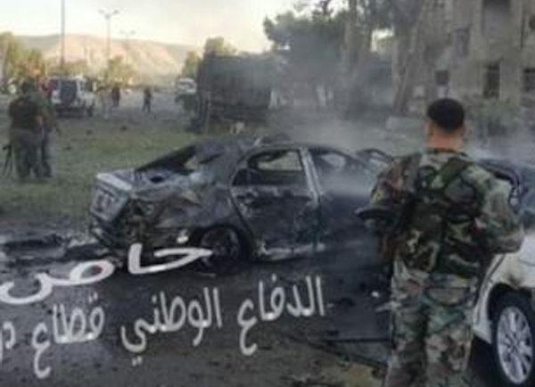 قتلى وجرحى بتفجير انتحاري في ساحة التحرير وسط دمشق