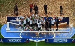 المانيا تحرز لقب كأس القارات بعد فوزها على تشيلي