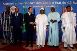 کشورهای ساحل آفریقا ارتش منطقه ای تشکیل می دهند