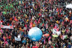 جرمنی میں جی 20 سربراہی اجلاس سے قبل عوامی مظاہرے