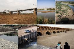 خشکیدن رودخانه ها