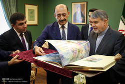 Iran, Azerbaijan culture ministers meet in Tehran