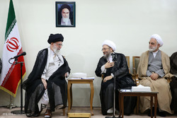 Leader receives Judiciary officials