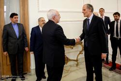 Zarif, French official meet in Tehran