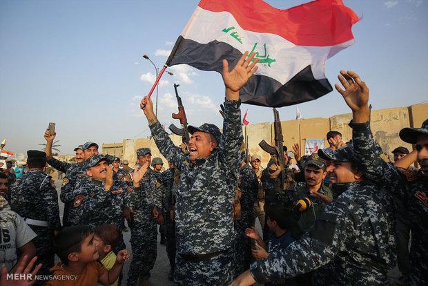 التلفزيون الرسمي العراقي يعلن تحرير مدينة الموصل بالكامل